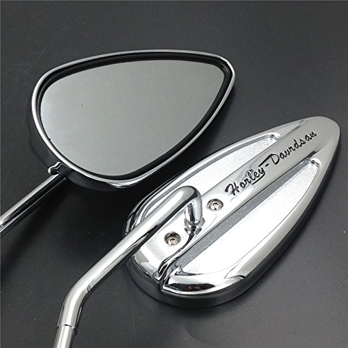 Teardrop Mirrors For Motorcycles - 1