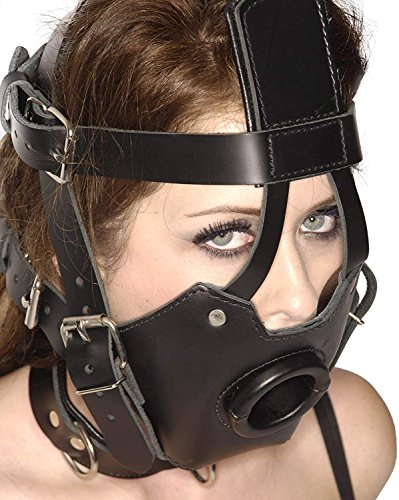 Strict Leather Premium Muzzle with Open Mouth Gag by Strict Leather (Image #1)