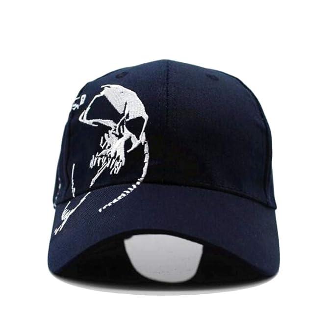 Hombres Deportes Sombreros Unisex algodón Gorra de béisbol al Aire Libre cráneo Bordado Snapback Moda para Hombres Gorras: Amazon.es: Ropa y accesorios