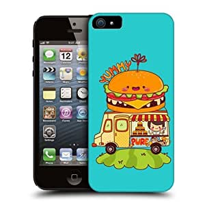 Burger Truck Mobile Food Truck Hard Back Case Cover For Apple iPhone 5