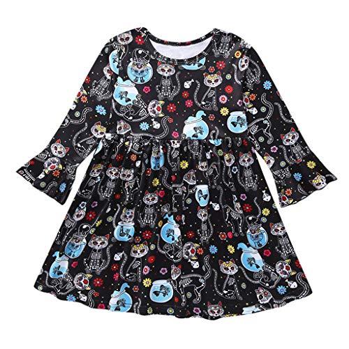 80s Skirts for Knee Length Tutu Skirt Black Boho Dress Winter Crochet Dresses Big top Baby Girl Dress Shoes bib Skirt for Girls Little red(Black,130)