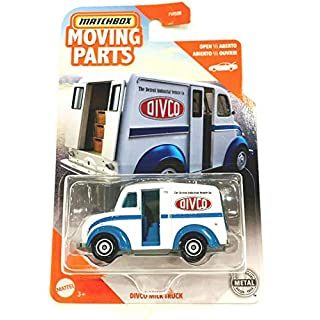 Matchbox Moving Parts Divco Milk Truck