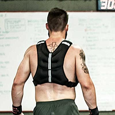 20 Lb Fixed Weight Vests / Easily Adjust Fit / For Body Weight, Agility, Strength Training & More