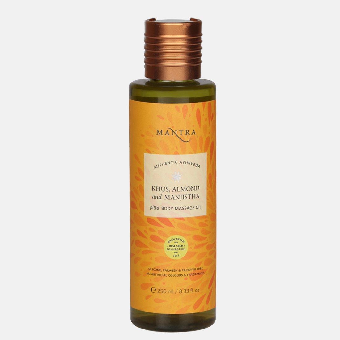 Khus, Almond & Manjistha Pitta Body Massage Oil