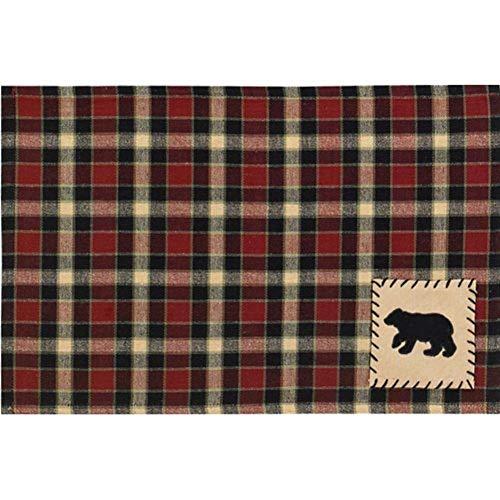 Black Forest Décor Concord Black Bear Placemats - Set of 4