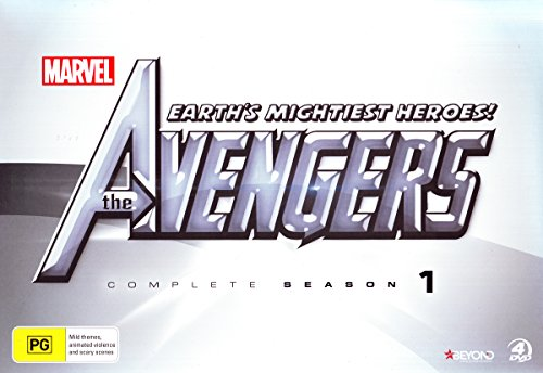 The Avengers Earth's Mightiest Heroes Season 1 Collectors Set DVD
