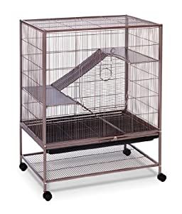3. Prevue Rat and Chinchilla Cage (Earthtone Dusted Rose 495)