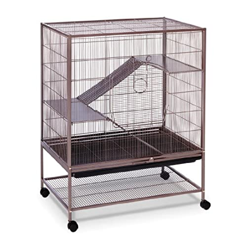 Prevue Pet Products Rat And Chinchilla Cage 495 Earthtone Dusted Rose 31 Inch By 20 1 2 40