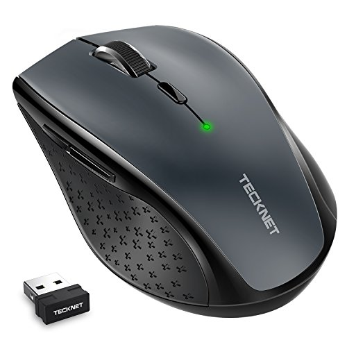 tecknet classic 2 4g portable optical wireless mouse with usb import it all. Black Bedroom Furniture Sets. Home Design Ideas