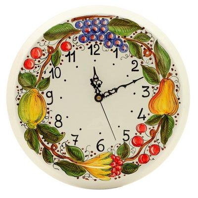 DERUTA: Round wall clock Frutta Toscana [#2117-1217]