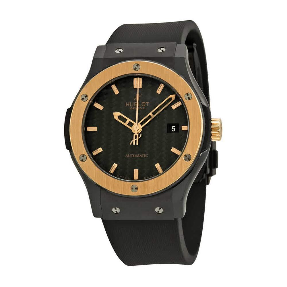 Amazon.com  Hublot Classic Fusion Ceramic King Gold Black Dial Mens Watch  542.CO.1780.RX  Hublot  Watches c7185d2df396