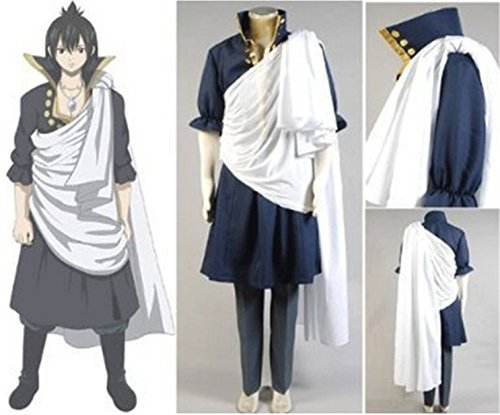[Vicwin-One Fairy Tail Zeref Cosplay Costume] (Zeref Cosplay Costume)