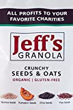 Jeff's Granola - Organic and Gluten-Free Crunchy Seeds & Oats, 4 lb.