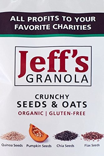 Jeff's Granola - Organic and Gluten-Free Crunchy Seeds & Oats, 4 lb. by Jeff's Granola