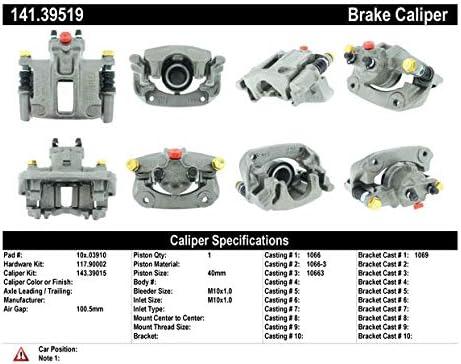 Centric 141.39519 Rear Brake Caliper