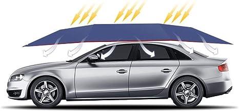 Conral Remote Control Car Tent Portable Automatic Car Umbrella Car Protection Automatic Car Cover Sunproof Canopy Anti Uv Snow Proof Carport For Suv Mpv Blue Amazon De Automotive