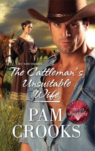 book cover of The Cattleman\'s Unsuitable Wife