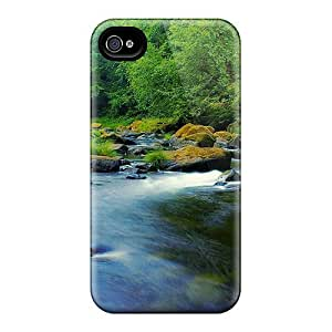 MDCH Premium Protective Hard Case For Iphone 4/4s- Nice Design - Oregon Nestucca River