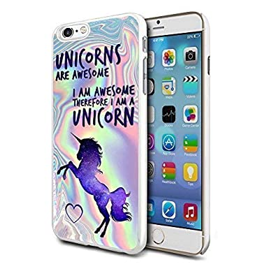 133ade3b3d0 N4U Online Awesome Rainbow Unicorn Phone Case Clip Cover Skin For Apple  Iphone 5   5S  Amazon.co.uk  Electronics