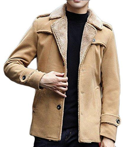 Moda Di S 1 Cappotto Rivestito Giacca amp; amp; W Calda Casual Con M Uomini Cachemire wptA1gxq