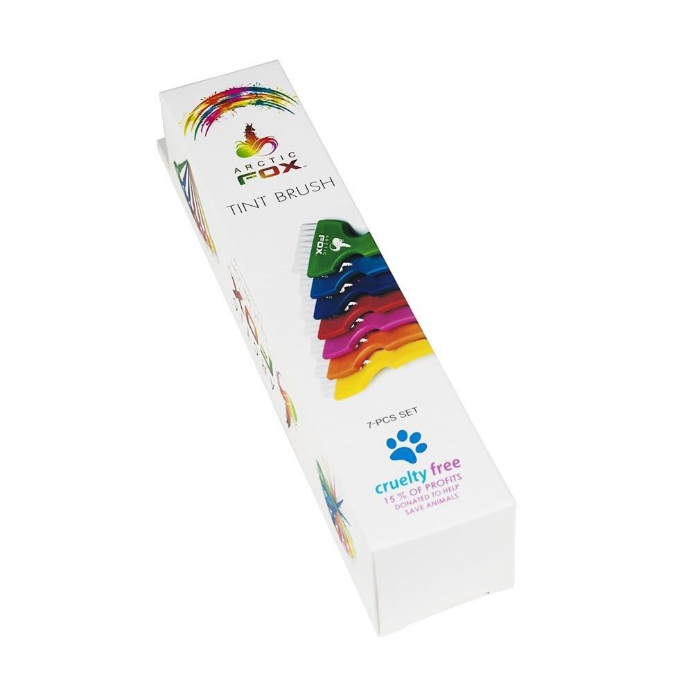 Arctic Fox Rainbow 7 Piece Tint Brush Set