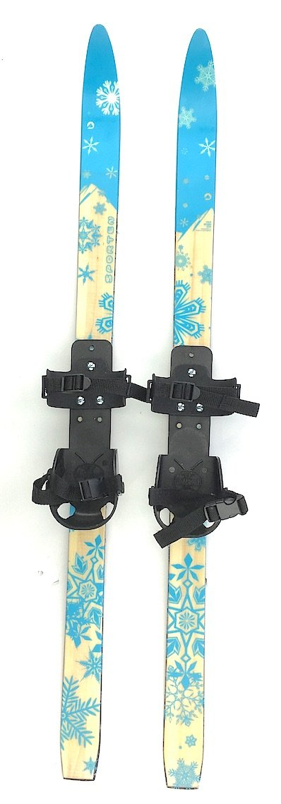 Sporten Second Step Kid's Junior Cross Country Skis 130cm with Universal Fit Bindings by sporten