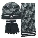 accsa Winter Kids Boy Dinosaur Knit Hat Glove