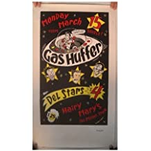 Gas Huffer Poster Gashuffer Concert Gig Des Moines Iowa