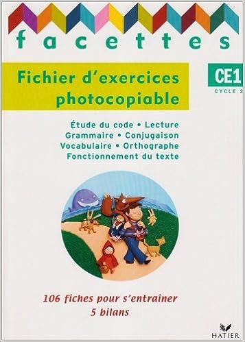 Lire un Facettes CE1 : Fichier d'exercices photocopiable pdf
