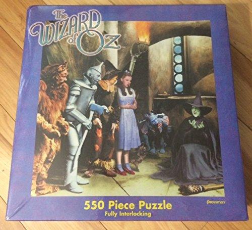 Pressman The Wizard of Oz 550 Piece Puzzle ~ Wicked Witch...
