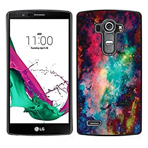 Design for Girls Plastic Cover Case FOR LG G4 Space Abstract Painting OBBA
