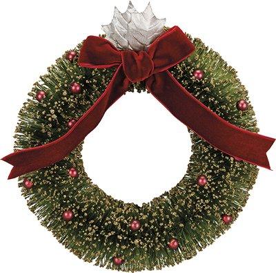 Set of 2 - Bristle Wreath