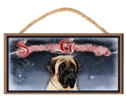 """English Mastiff Dog """"Season"""