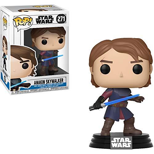 - Anakin Skywalker: Star Wars - The Clone Wars x Funko POP! Vinyl Figure & 1 POP! Compatible PET Plastic Graphical Protector Bundle [#271 / 31794 - B]