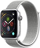 Apple Watch Series 4-40mm Space Silver Aluminum Case with Seashell Sport Loop, GPS + Cellular, watchOS 5