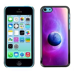 Asiento Real Of The Sun - Metal de aluminio y de plástico duro Caja del teléfono - Negro - iPhone 5C