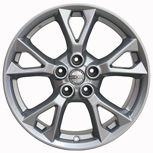 18x8 Wheel Fits Nissan, Infiniti - Nissan Maxima Style Silver Rim, Hollander 62582 by OE Wheels LLC (Image #2)