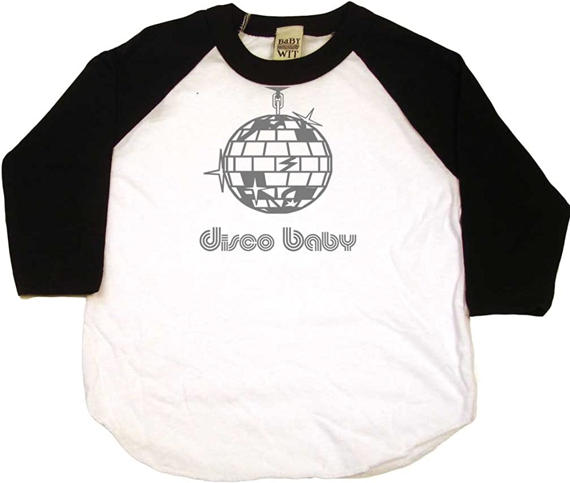 Disco Baby Disco Ball Funny Toddler Clothes Boy Or Girl T-Shirts Cute Baby Gift