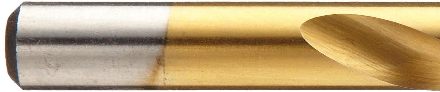 Round Shank Pack of 1 Chicago Latrobe 2550 Cobalt Steel Jobber Length Drill Bit 135 Degree Split Point TiN Coated 1//2 Size Pack of 1 1//2 Size Greenfield 54069