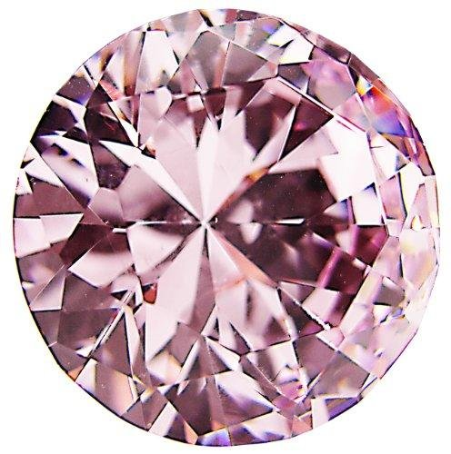 CSKB 6 PCS 30mm Pink Diamond Crystal Glass Door Knobs Drawer Cupboard Kitchen Handle Bedrooms Chest Hardware + Screw -