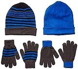 Spotted Zebra Boys' Kids Hat Scarf Mittens Gloves