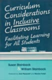 Curriculum Considerations in Inclusive Classrooms 9781557660787