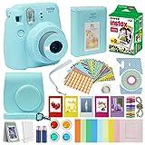 Fujifilm Instax Mini 9 Kit de accesorios para cámara para niños Fuji Instax Mini 9 incluye cámara instantánea Fuji Instax, paquete de 20 Instax Film, funda con correa, álbum Instax + marcos + más...