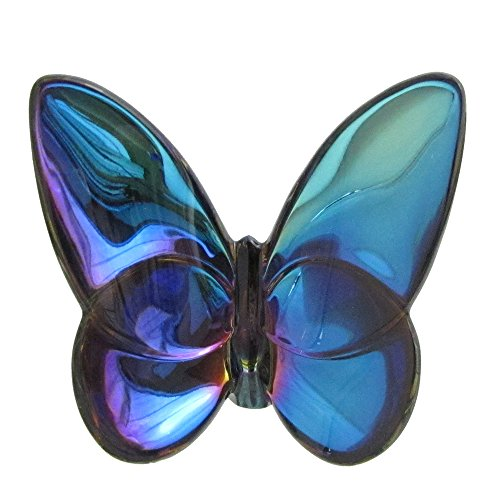 Baccarat Papillon Crystal Lucky Butterfly Blue Scarabee 2609987
