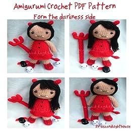 Crochet Pattern Maker Mac : From the darkness side (little devil) amigurumi crochet ...