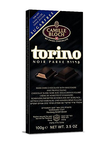 Torino Sugar Free Parve Truffle Filled Chocolate - Pack of 6