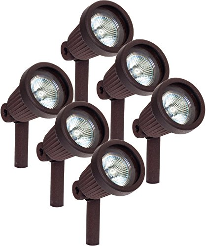 Paradise GL22724 Low Voltage Cast Aluminum 20W Spotlight (Bronze, 6 -