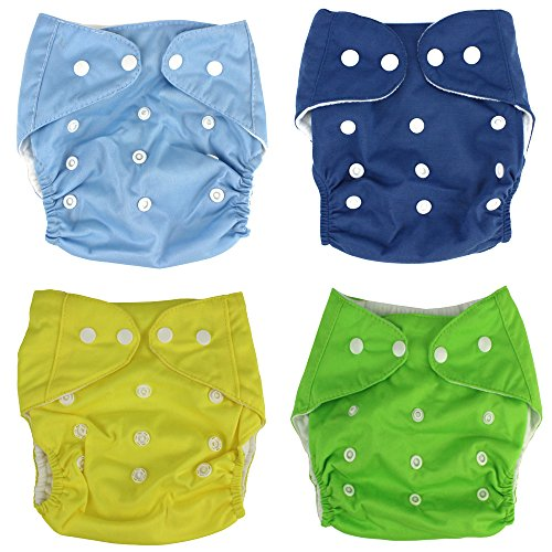 Baby Cloth Diaper Breathable Adjustable Snap Washable Reusable