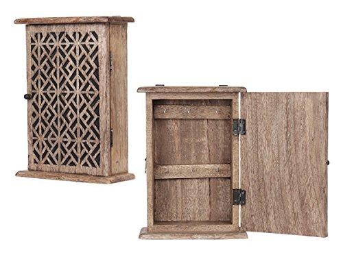 Store Indya Key Cabinets Box Holder Organizer Wooden Stor...