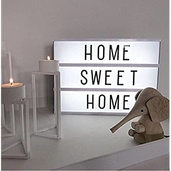 K.MAX A4 Cinematic Light Box USB with 96 Letters and LED Light A4 Light Up Your Life
